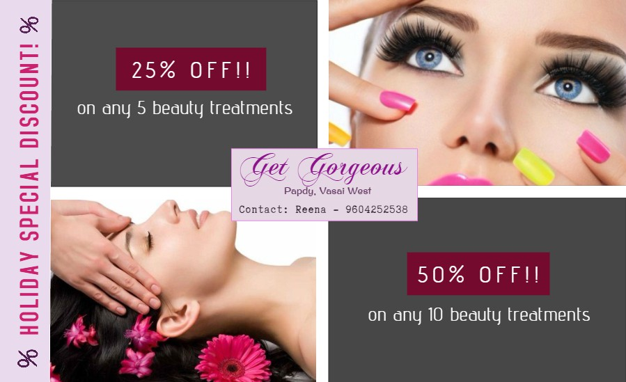 Get Gorgeous May Offer