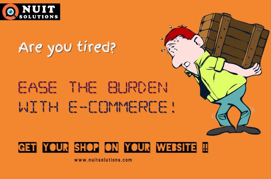 NUIT Poster e-commerce