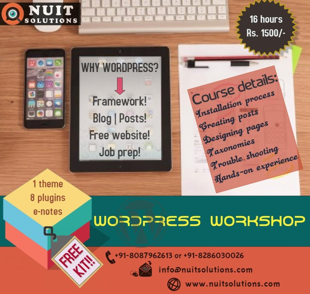 NUITS Wordpress Workshop